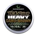 Trickster Heavy Camo Brown 15lb (6.8kg) поводочный материал Gardner