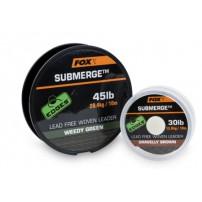 Submerge Lead Free Leader Green 45lb 10m лидер Fox