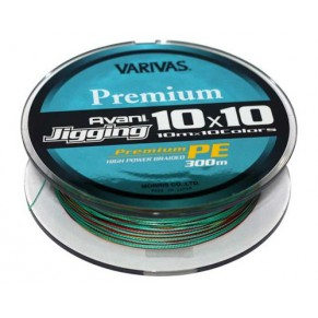 New Avani Jigging 10*10 300m #4, Varivas - Фото