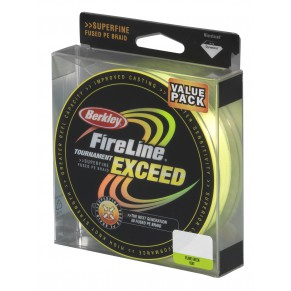 FireLine Tournament Exceed Flame Green 270m 0.32mm 23,5kg, Berkley - Фото