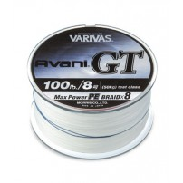 Avani GT MAX Power 600m, #12 170 LB шнур Varivas