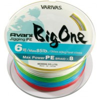 Avani Big One PE, 600m, #6,0 85 LB шнур Varivas