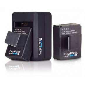Dual Battery Charger for Hero3/3+ GoPro - Фото
