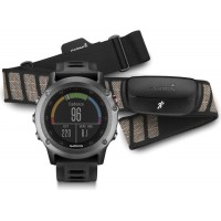Fenix 3 Grey Performer Bundle наручный навигатор Garmin
