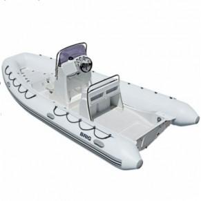 Falcon Riders F570 Deluxe лодка с пластиковым днищем Brig - Фото