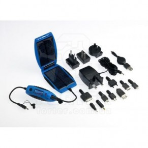 Powermonkey eXplorer V2 Blue солнечное зарядное устройство Powertraveller - Фото