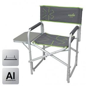 Vantaa NF кресло складное алюмин. с откидным столиком Norfin - Фото