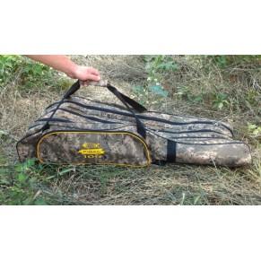 Case 104 Camo чехол-рюкзак для удилищ 4x секц. Kibas - Фото