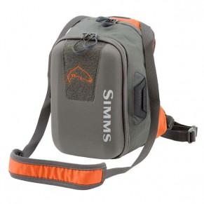 Headwaters Chest Pack Fury Orange сумка Simms - Фото