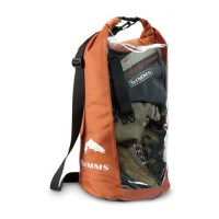 Dry Creek Roll Top Orange/Clear Simms