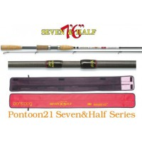 Seven & Half 762XF 2.0-10.5gr 3-8lb Ex.Fast удилище Pontoon 21