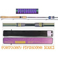 "Psychogun 8'3"" 2.5-12.0gr, 4-10lb Pontoon 21"