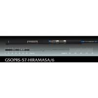 Paragio GSOPRS-57-Hiramasa/6 Graphite Leader
