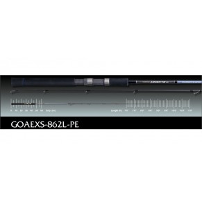 Argento EX GOAEXS-862L-PE 2,59m 148gr 5-21gr удилище Graphiteleader - Фото