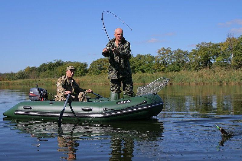 ПВХ лодки для рыбалки