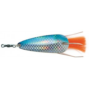 Колебалка Abu Garcia Favorit Vass Spoon 25g S/Blue Flash - Фото