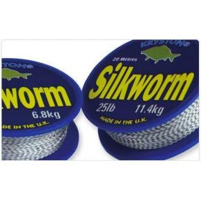 Silkworm U/S x 20m spool 12lb поводковый материал Kryston - Фото
