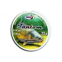 Леска флуорокарбон FANTOM  0.24 мм  23 м