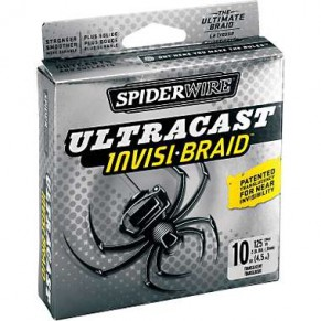 Ultracast Invisi 0.12mm, 110m шнур Spider - Фото