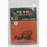 Крючок карповый К-3 4 Texnokarp