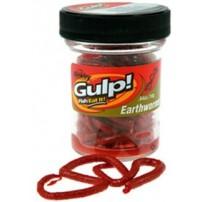 GEW-RDW GULP! Earthworms красный червь силикон Berkley