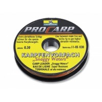 Поводковый материал Snaggy Waters carp leader, 0,3mm.