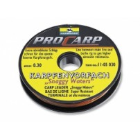 Snaggy Waters Carp leader 0,3mm. поводковый...