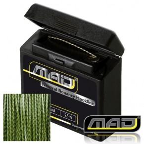 Incognix Coated Braid Green 25M 25lbs поводковый материал MAD - Фото