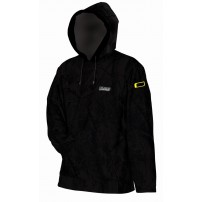 Пуловер MAD HOODED FLEECE - BLACK - L
