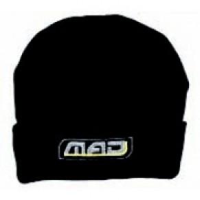 Шапочка MAD черная - Фото