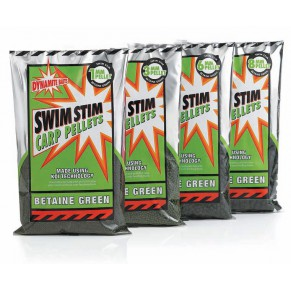 Swim Betaine Green Pellets 8mm 900gr пеллетс Dynamite Baits - Фото