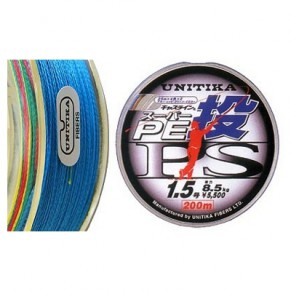 Castline PE PS 10lb 200m шнур Unitika - Фото