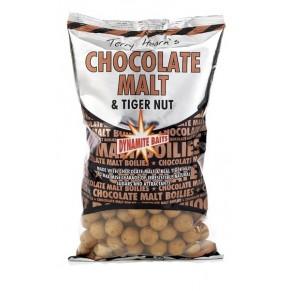 Choc Malt & Tigernut 26mm 1kg бойлы Dynamite Baits - Фото