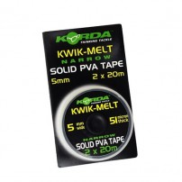 Kwik-Melt 5mm PVA Tape - 40m Dispenser ПВА лента на шпуле Korda