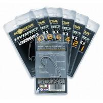 Long Shank X Size 8 крючки с тефлоновым покрытием Korda