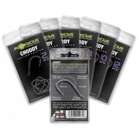 Choddy Hook Size 4 крючок с тефлоновым покрытием Korda