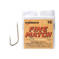 Hooks Carbon Fine Match 18 крючки Drennan