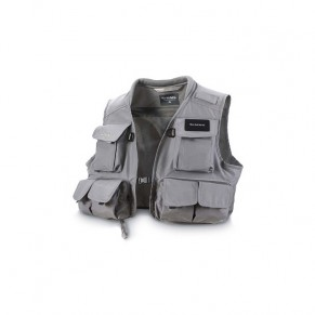 Freestone Vest Gunmetal L Simms - Фото