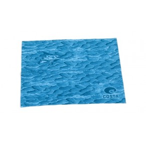 Microfiber Cloth blue салфетка для очков Costa del Mar - Фото