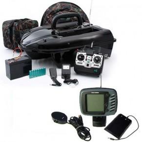 РК4Э радиоуправляемый катер с эхолотом Amina - Фото