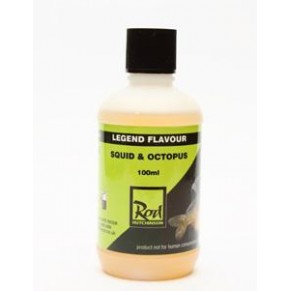 Legend Flavour Squid & Octopus 100ml аттрактант Rod Hutchinson - Фото