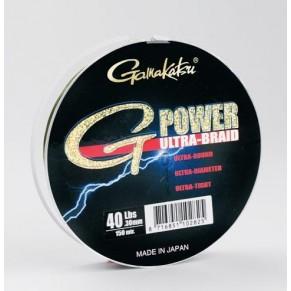 Ultra G-Power 150m 6lbs шнур Gamakatsu - Фото