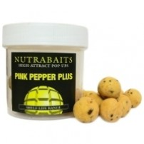 Pink Pepper Hookbaits 15mm Pop-Up плавающие бойлы Nutrabaits