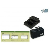 VS-7010B 2-ярусный малый Black чемодан Versus