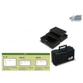 VS-7010B 2-ярусный малый Black чемодан Versus - Фото
