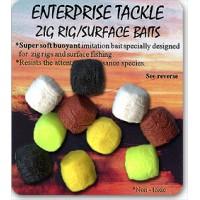 Плавающие насадки разноцветные Enterprise Tackle