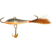 Soft Tail 2,5 + тр. 25мм/15 с белич.хвостом блесна-балансир Lucky John