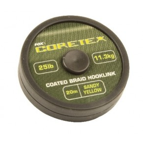 Coretex Sandy Yellow 15lb поводковый материал Fox - Фото