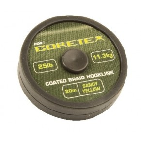 Coretex Sandy Yellow 20lb поводковый материал Fox - Фото