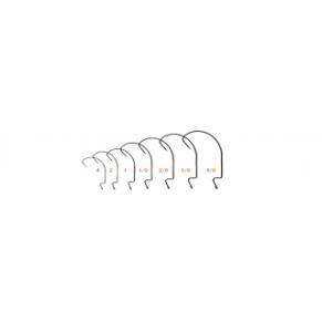 Крючок офсетный Shank EWG 1 - 10шт - Фото